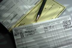 Bill-Tag Lizenzfreies Stockfoto