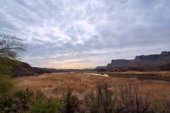 Bill Williams River- Arizona stock photo