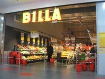 Billa shoppar Arkivbild