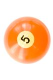 Billard Ball Royalty Free Stock Image