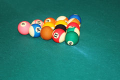 Billard balls Stock Image