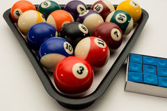 Billard Royalty Free Stock Images