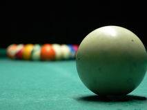 Billard-billes images stock