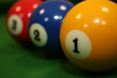 Billard pool Stock Photos