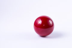 Billard Red Ball Stock Photos