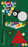 Billard and snooker Stock Photo