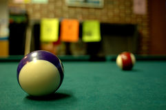 Billard table Stock Images