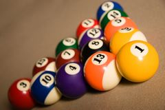 Billard table Stock Photography