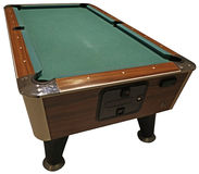 Billard table Stock Image