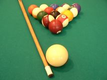billards Royaltyfri Bild
