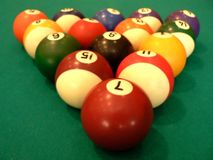 Billards Fotos de Stock Royalty Free