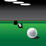 billards Images libres de droits