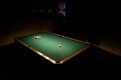 Billards Photo libre de droits