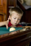 Billards de pièces d'enfant Image libre de droits