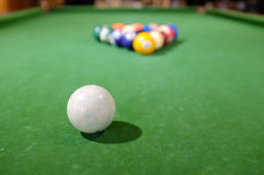 Billards de piscine Image stock