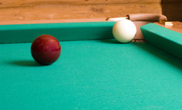 Billards russes. Photographie stock libre de droits