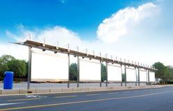 billboardów drogi strona Zdjęcie Stock