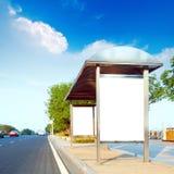 billboardów drogi strona Fotografia Stock