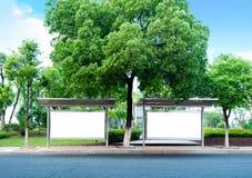 billboardów drogi strona Obrazy Stock