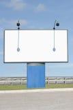 Billboard. Roadside billboard advertising sign panel Royalty Free Stock Photography