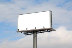 Billboard. Empty billboard with copy space royalty free stock photos