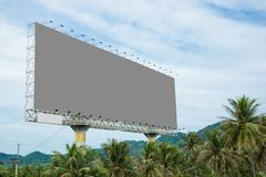 billboard Fotografia Stock Libera da Diritti