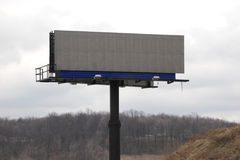Billboard. Blank Clean Billboard Stock Image