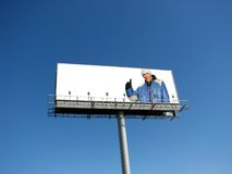 Billboard Royalty Free Stock Photography