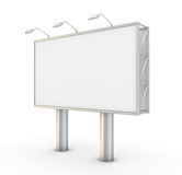 Billboard. Blank billboard. 3D generated image Stock Photo