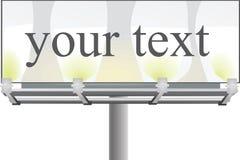 billboard illustrazione vettoriale