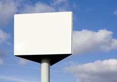 Billboard. With space for announcement stock photos