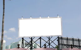 Billboard. Blank Billboard Royalty Free Stock Images