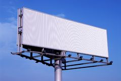Billboard. A trivision billboard Royalty Free Stock Photo