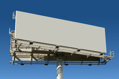 Billboard Add your text. With blue sky royalty free stock photography