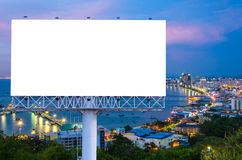 billboard or advertising poster on building for advertisement co Stock Photo