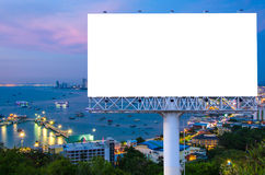 billboard or advertising poster on building for advertisement co Stock Photos