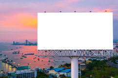billboard or advertising poster on building for advertisement co Royalty Free Stock Image
