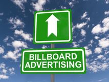 Billboard advertising Stock Photos