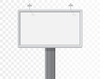 Billboard  on the alpha white background Royalty Free Stock Photo