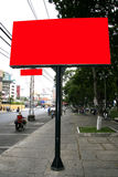 billboard blank Στοκ Φωτογραφία