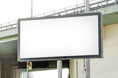 Billboard. Blank billboard on the road stock photos