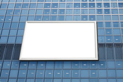 Billboard on building Royalty Free Stock Image