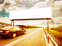 Billboard. On Country Road in China Stock Photo