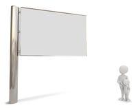 The billboard. Stock Photography