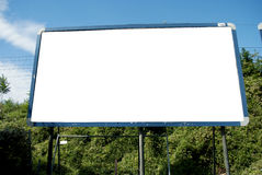 Billboard display for advertising Stock Image
