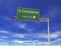 Billboard: e-Commerce Stock Photography