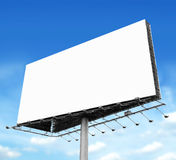Billboard with empty screen Stock Images