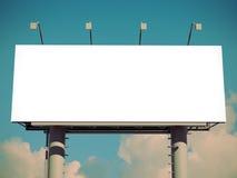 Billboard with empty screen Stock Photos