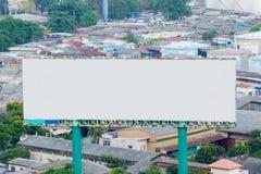 Billboard with empty screen Stock Photo