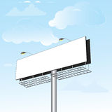 Billboard is a huge space Royalty Free Stock Images